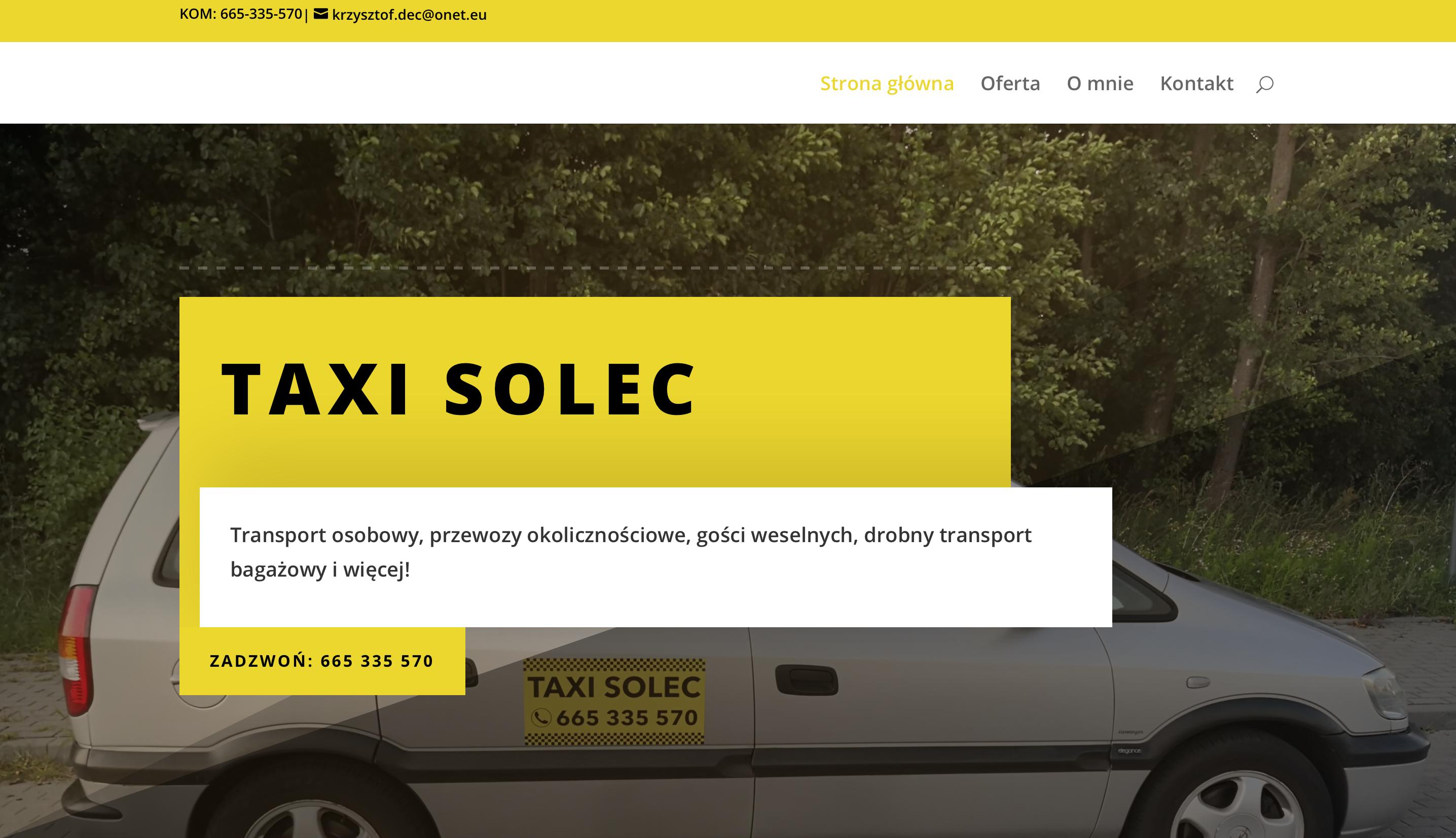 Taxi Solec
